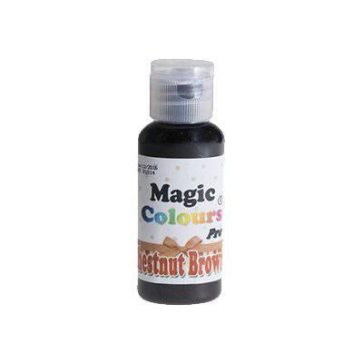 צבע ג'ל חום אגוז – מג'יק קולורס