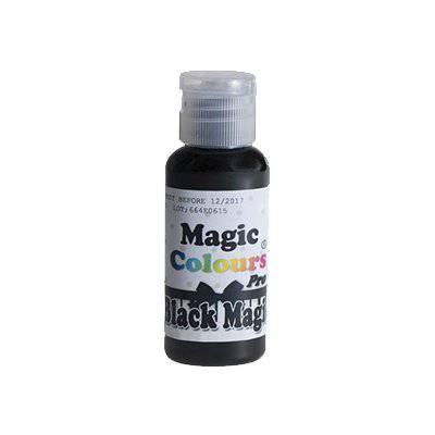 צבע ג'ל שחור אקסטרה – מג'יק קולורס
