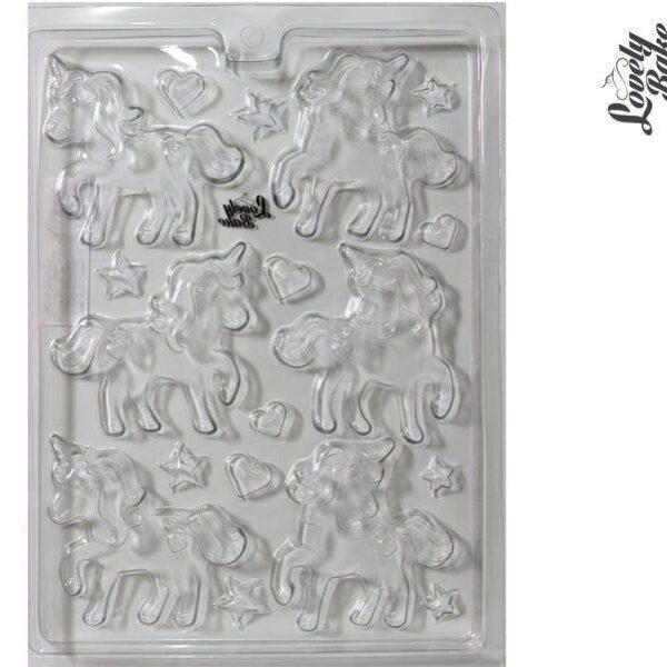 תבנית פלסטיק חד קרן