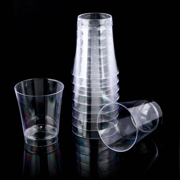 קינוח כוסות שוט קריסטל
