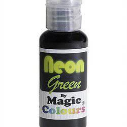צבע ג'ל ניאון ירוק – מג'יק קולורס
