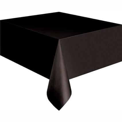 מפת שולחן ניילון שחור