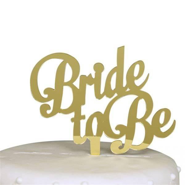 טופר BRIDE מראה זהב