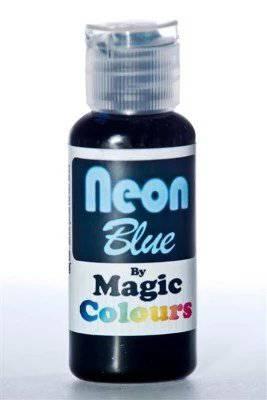 צבע ג'ל ניאון כחול – מג'יק קולורס