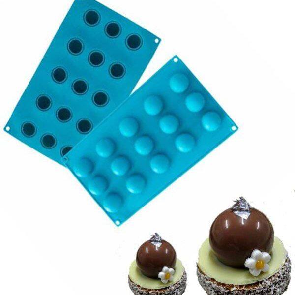תבנית סיליקון כדורים 15 שקעים