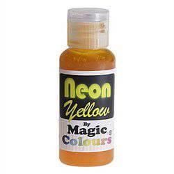 צבע ג'ל ניאון צהוב – מג'יק קולורס