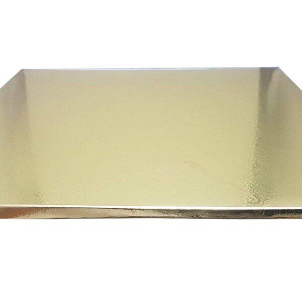 תחתית זהב מרובע 1סמ 29X29