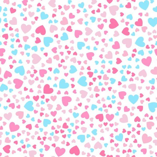 טפט לבבות צבעוני