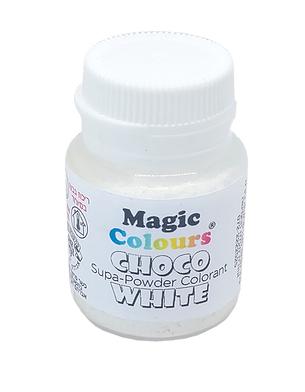 צבע מאכל אבקה לבן לשוקולד – מג'יק קולורס