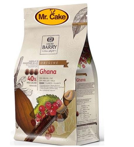 שוקולד חלב Barry Ghana 40%