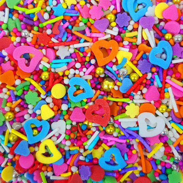 סוכריות לעוגה מיקס פנטזיה צבעוני