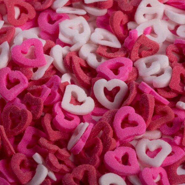 סוכריות לעוגה לב חלול