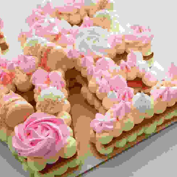 שבלונות צורות גדולות לעוגות בצק פריך