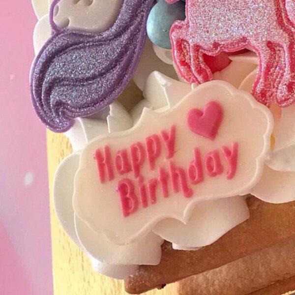 """דיסקית מסגרת """"Happy Birthday"""" – אפרת דומר"""