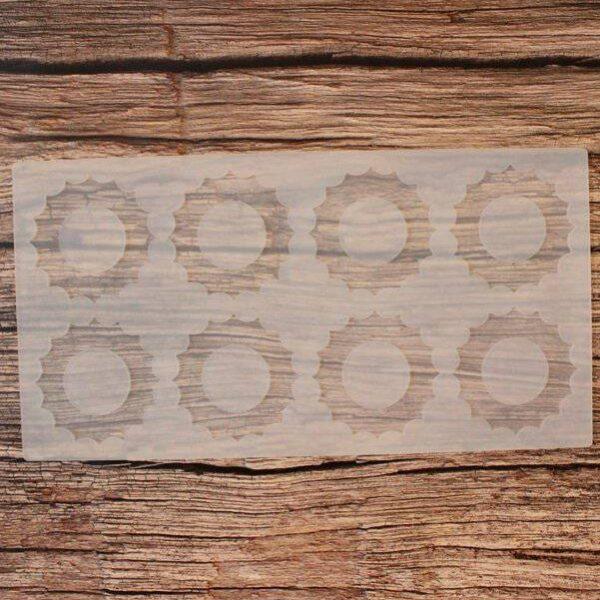 תבנית סיליקון לקישוט שוקולד – גלגלי שיניים