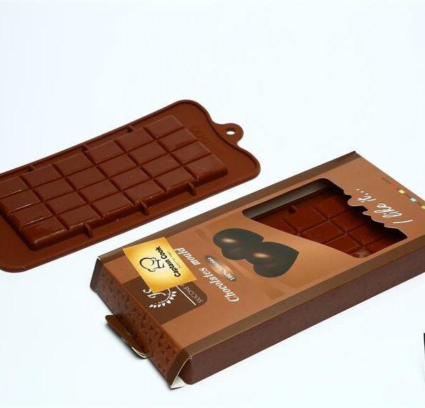 טבלת שוקולד מסיליקון