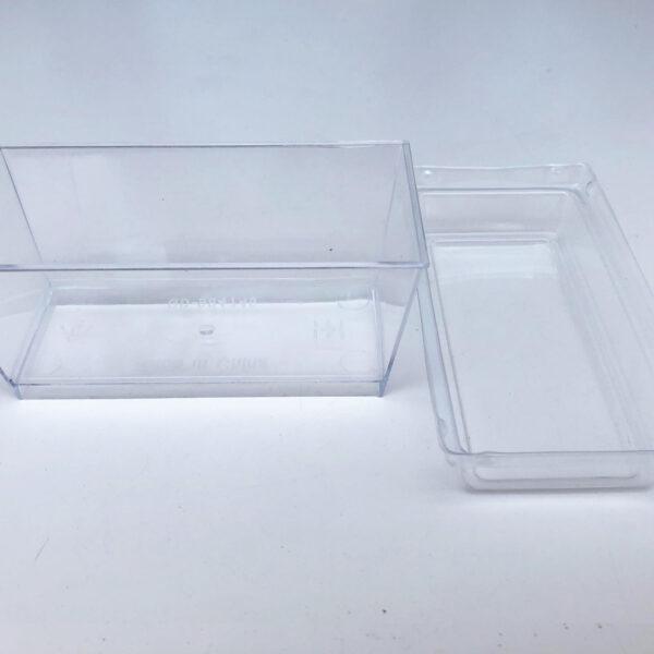 קופסאות פלסטיק מיני לקינוח – 25 יח' כולל מכסה