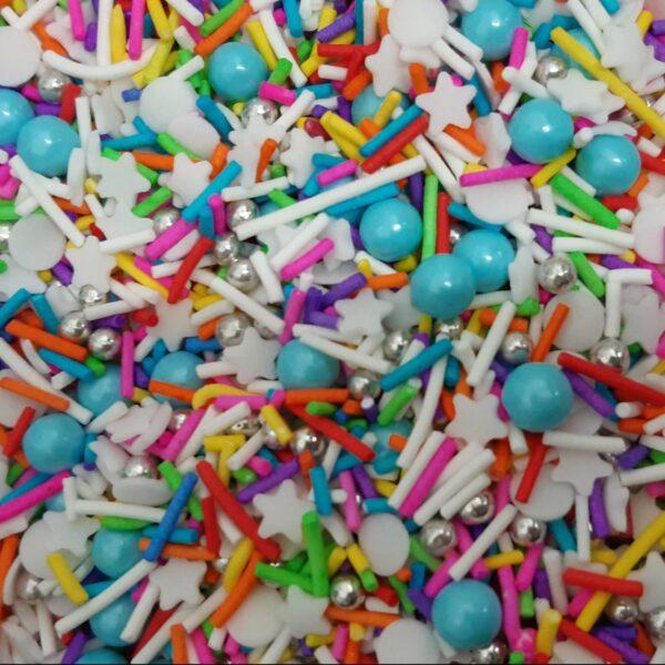 סוכריות מיקס BAKES – צבעוני 250 גרם