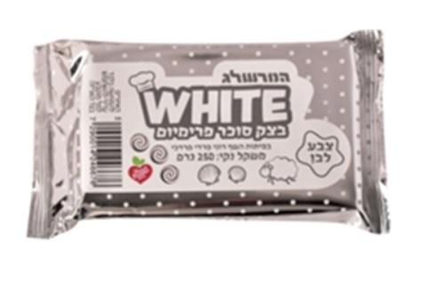בצק סוכר לבן 250 גרם – המרשלג