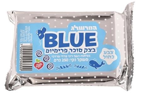 בצק סוכר כחול 250 גרם – המרשלג