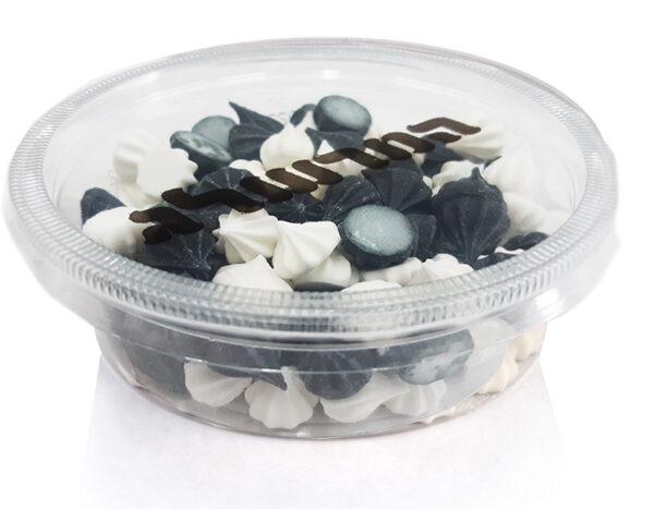 טפטופים שחור לבן – 60 גרם