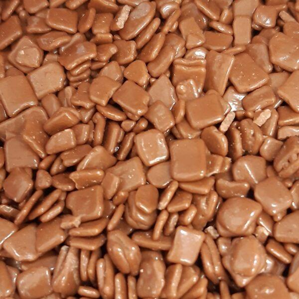 קישוט שוקולד חלב מרובע קליבו – 250 גרם