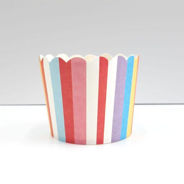 מנג'ט פסים צבעוני גדול קוטר 6.5 – 50 יחידות