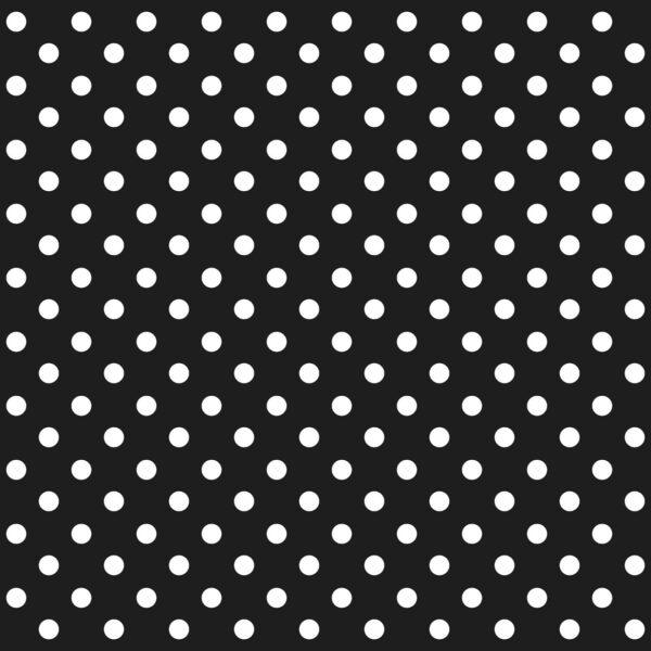 טפט נקודות לבן שחור
