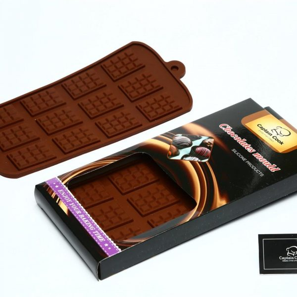תבנית סיליקון טבלאות שוקולד מיני