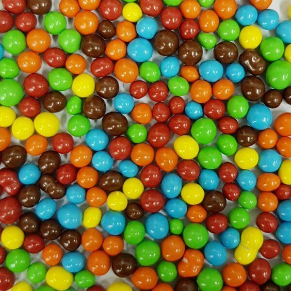 כדורי קליק צבעוניים משוקולד – 80 גרם