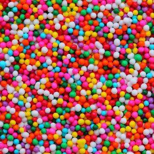 סוכריות מזרה צבעוני – 100 גרם