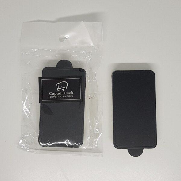 """תחתיות מלבן שחורות לקינוחים – 8.5X5 ס""""מ – 20 יחידות"""