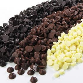 שוקולד חלב,לבן ומריר (בעונת הקיץ - איסוף עצמי בלבד)