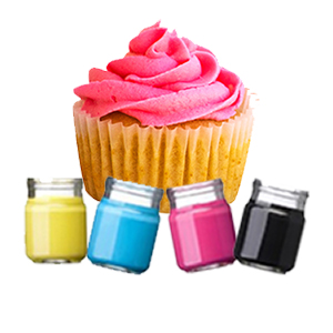 צבעי מאכל,אבקות נצנוץ וצביעה, רויאל אייסינג ונלווים